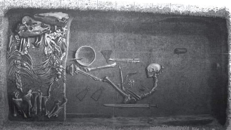 Un războinic viking de rang înalt descoperit în Suedia era, de fapt, femeie. Nimeni nu și-a dat seama timp de 100 de ani