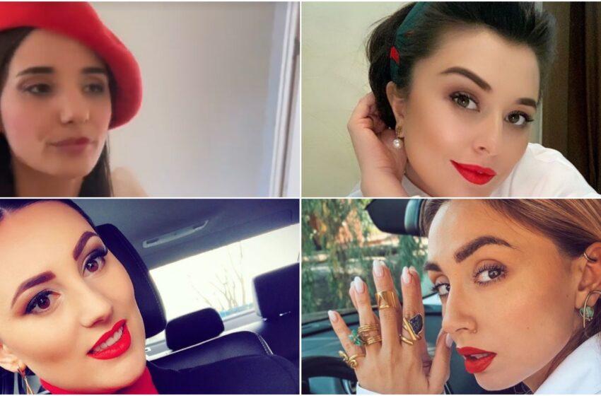 Buzele în roșu: Mai multe vedete s-au alăturat  campaniei Red My Lips în susținerea femeilor hărțuite sexual