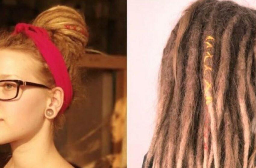Transformarea uimitoare a unei tinere care a renunțat la dreaduri după un an. Ce tusoare i-a propus stilistul