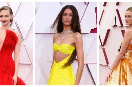 (foto) Oscar 2021 în era Covid-19: Cele mai spectaculoase ținute de pe covorul roșu