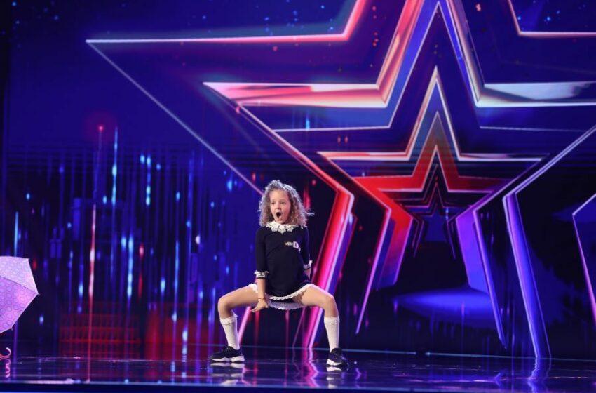 (video) O fetiță de 10 ani, originară din Chișinău a cucerit juriul de la Românii au Talent cu un dans plin de caracter și energie
