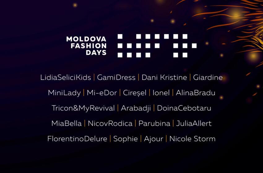 Branduri consacrate și nume noi în industria fashion – Designerii care își vor prezenta colecțiile la o nouă ediție Moldova Fashion Days
