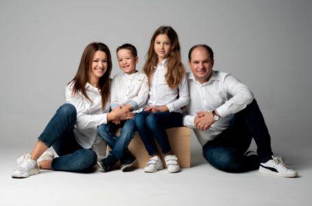 Momente de nostalgie! Ion Ceban a publicat o imagine cu familia sa de acum nouă ani