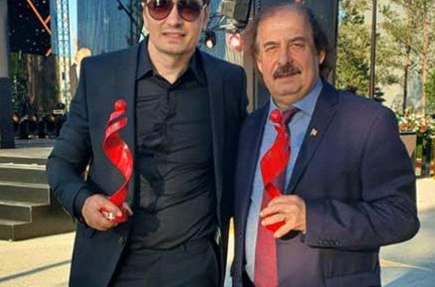 """Nicolae Botgros și Alex Calancea au primit trofeul """"Omul anului 2020"""""""