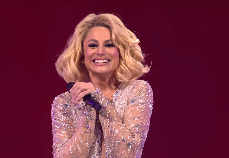 (VIDEO) Natalia Gordienko a scăpat microfonul din mână în finala Eurovision 2021: Cum s-a descurcat interpreta