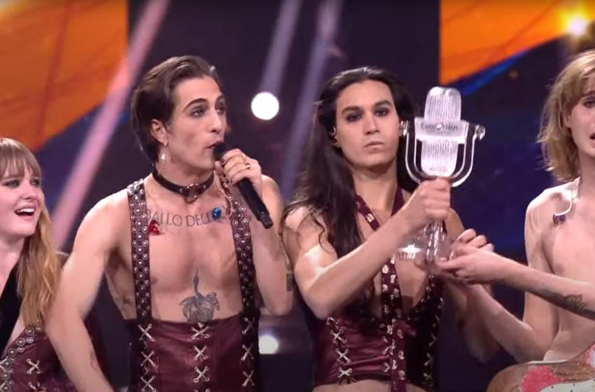 """(VIDEO) Prima reacție a câștigătorului Eurovision 2021: """"Rock and roll never dies"""""""