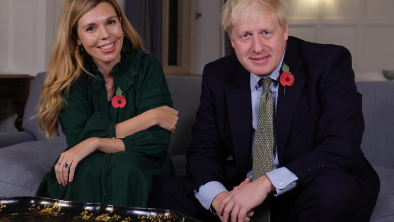 Boris Johnson s-a căsătorit în secret cu Carrie Symonds