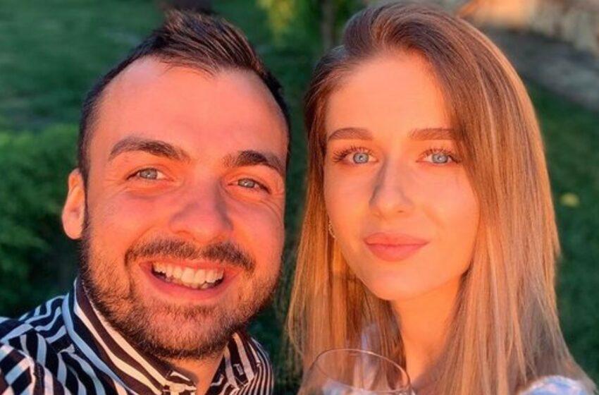 FOTO Gabi Marcu și-a cerut iubita în căsătorie!  Fericitul eveniment a avut loc la înălțime