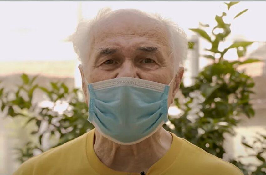 """Cu dor de scenă, Eugen Doga s-a imunizat împotriva Covid-19: """"Vaccinul e făcut de savanți și trebuie să avem încredere în ei"""""""