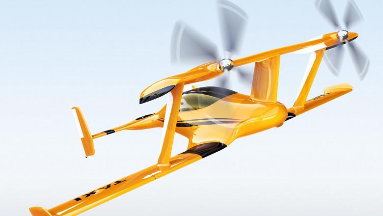 Primele taxiuri zburătoare ar putea apărea în Europa peste 3 ani