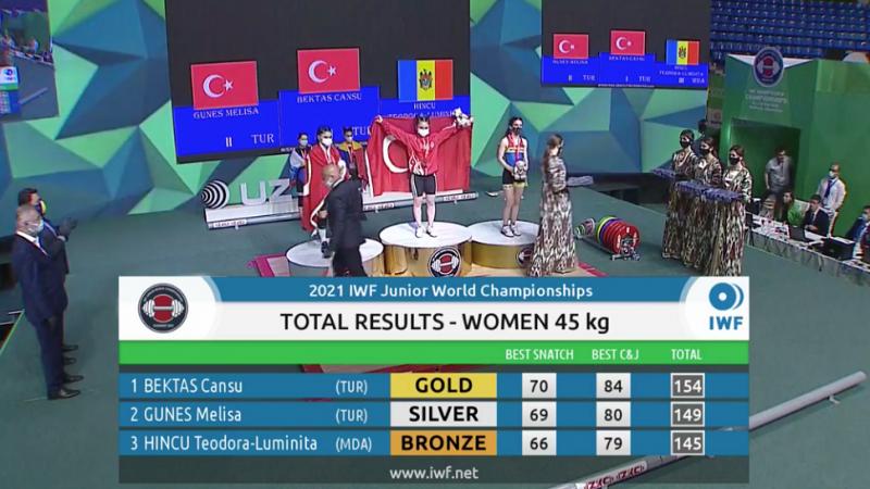 Încă o medalie pentru Moldova: Teodora-Luminița Hîncu a cucerit bronzul la Mondialele de juniori