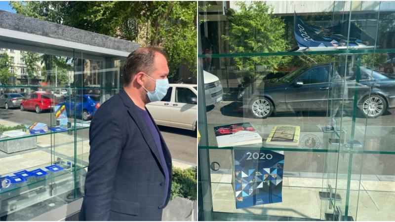 Cărțile donate de primarul capitalei, Ion Ceban, bibliotecii din aer liber au dispărut