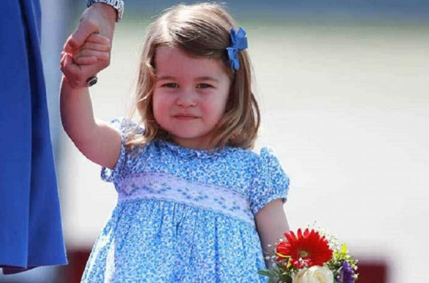 Prinţesa Charlotte a Marii Britaniei împlineşte vârsta de 6 ani