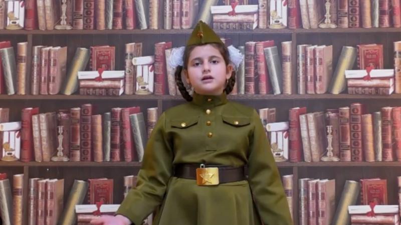 (video) Margarita, fiica de 9 ani a lui Ilan Șor, recită o poezie dedicată Zilei Victoriei. Imagini, postate de Jasmin
