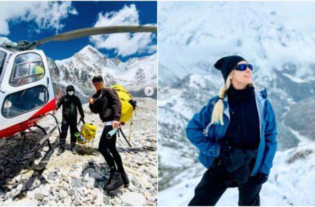 """Olga Țapordei – 10 lucruri despre răbdare, însușite pe Everest: """"Zâmbim, zâmbim și zâmbim"""""""
