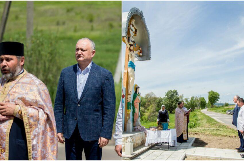 """""""Sat de oameni gospodari"""": Mesajul de felicitare al lui Igor Dodon cu ocazia hramului la Sadova"""
