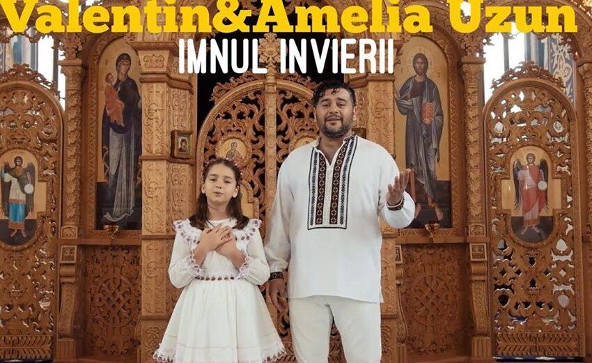"""(video) Cu prilejul sărbătorilor pascale, Valentin și Amelia Uzun au lansat melodia: """"Imnul Învierii"""""""