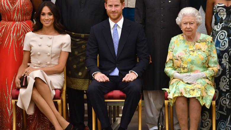 Prințul Harry și Meghan Markle, în centrul unei noi controverse. Ei nu ar fi întrebat-o pe Regină dacă își pot numi fetița Lilibet