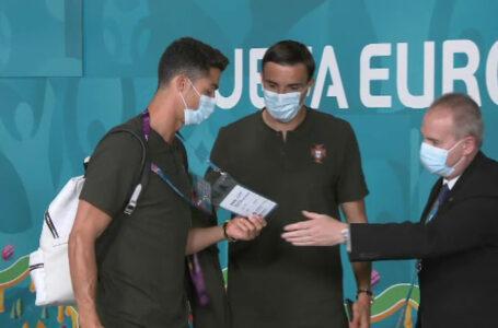 VIDEO Cristiano Ronaldo, oprit de securitate la EURO 2020. Angajații nu l-au recunoscut și i-au verificat ecusonul