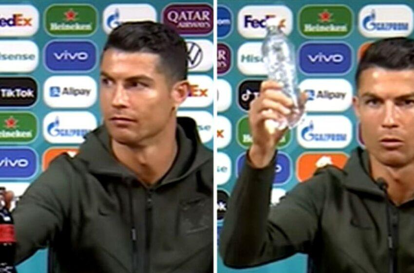 VIDEO | Coca-Cola a pierdut 4 miliarde de dolari, după gestul lui Ronaldo de la EURO 2020