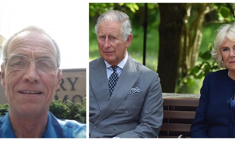 """Un bărbat susține că este fiul secret al prințului Charles și al Camillei. Reacția internauților: """"Are ochii Reginei!"""""""