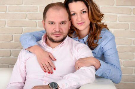 FOTO Declarații de dragoste de la Ion Ceban pentru soție, de ziua ei. Vezi cât de emoționat a felicitat-o pe Tatiana