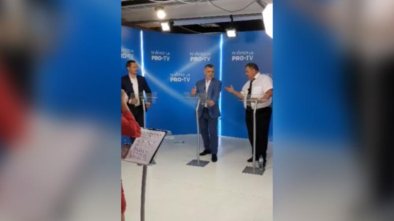 (video) Scandal la dezbaterile Pro Tv. Candidatul Partidului Regiunilor, în limba rusă: În țara mea vei vorbi cu mine în limba mea!