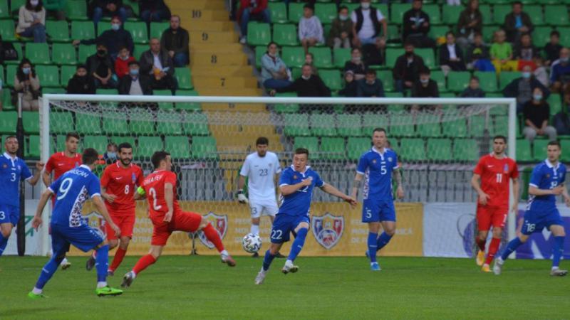 Naționala Moldovei a învins echipa Azerbaidjanului, într-un meci amical
