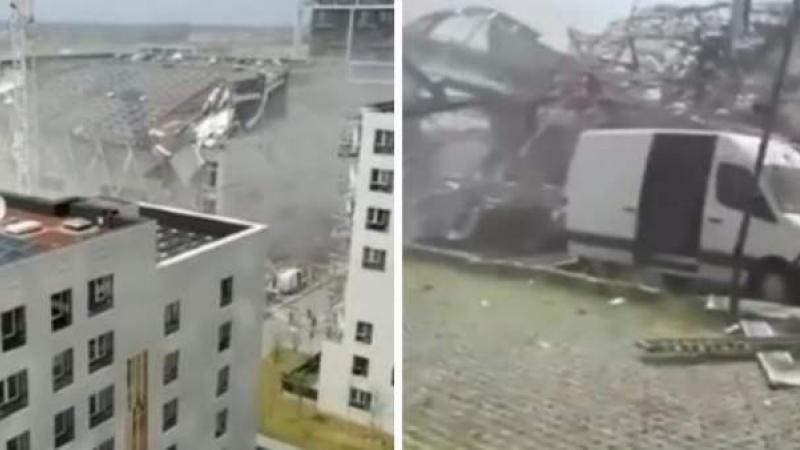 Un moldovean a decedat, altul grav rănit, după tragedia din Belgia: Un alt angajat la construcția prabușită încă e căutat
