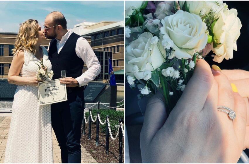 """Karizma s-a căsătorit: """"Dumnezeu a zâmbit și a decis anume așa să fie"""""""