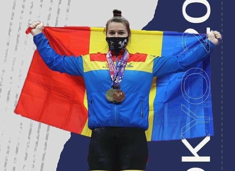 Debut la Jocurile Olimpice – Halterofila Elena Cîlcic, gata de cea mai mare provocare din cariera sa de până acum