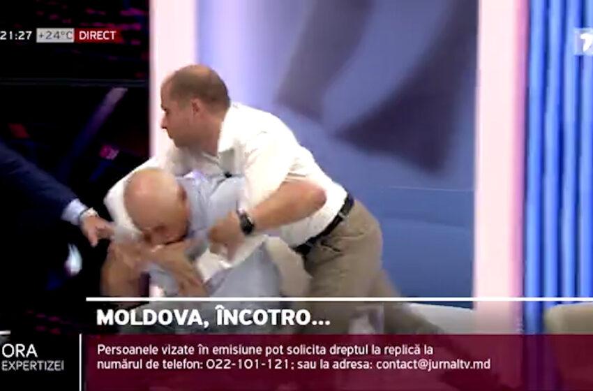 Bătaia din platoul JurnalTV, motiv de glumă la un stand-up cu Sergiu Tofilat