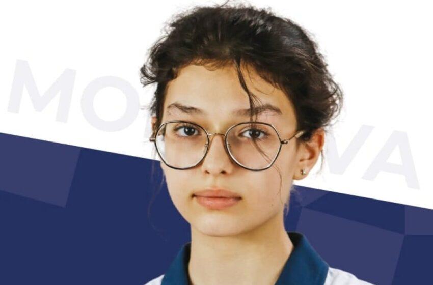 Cea mai tânără participantă la Jocurile Olimpice, din Republica Moldova, Ana Dulce