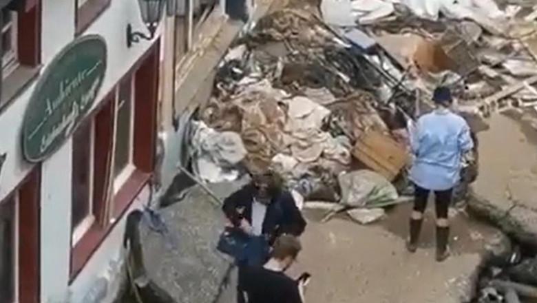 (video) O jurnalistă a fost concediată după ce s-a murdărit cu noroi înaintea unei transmisiuni live, pentru a dramatiza