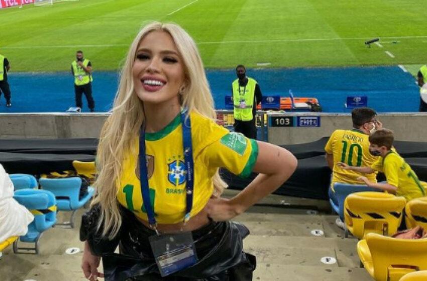 """FOTO Un coleg din naționala Braziliei i-a """"furat"""" iubita lui Neymar! Starul lui PSG a reacționat"""
