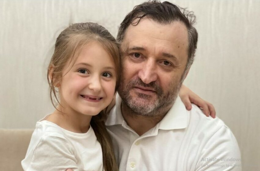 (foto) Cum s-au distrat în acest weekend fostul premier Vlad Filat cu fiica sa, Ekaterina