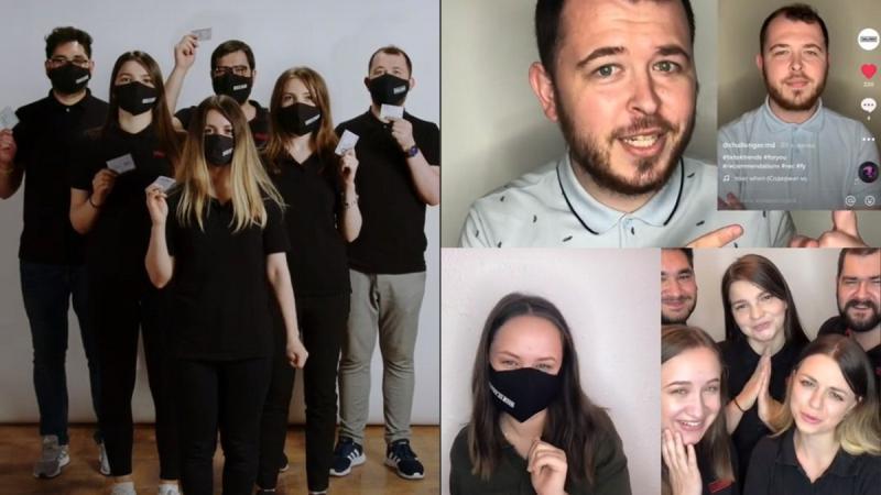 (video) Tinerii, chemați la vot… pe TikTok!