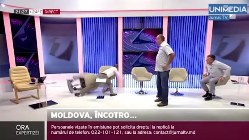 """Critici dure, după bătaia dintre Tofilat și Cosovan: """"/ Nivel de consilier prezidențial. / Nu văd bărbați. / S-a găsit un """"очкарик"""" să dea cu pumnul"""""""