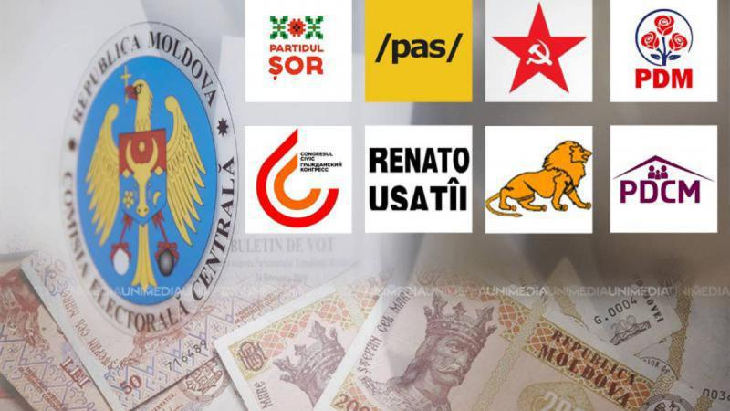 Milioanele au curs gârlă în electorală: Campionii la cheltuieli, care au rămas în afara Parlamentului
