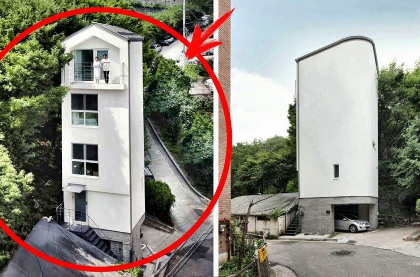 (video) Cum să construiești o casă cu cinci nivele pe locul unui garaj! Invenția care te va lăsa fără cuvinte