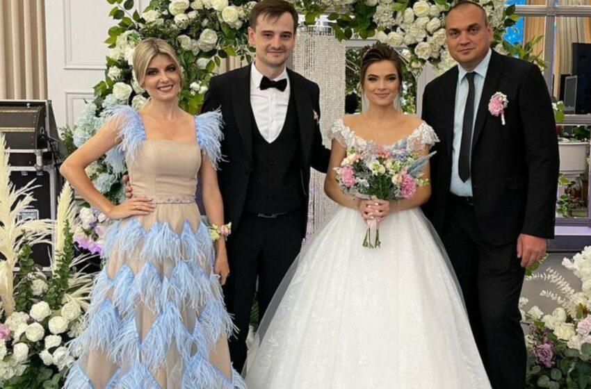 (video/foto)  Nuntă mare în showbiz-ul moldovenesc: Igor Rusu, socru mare, iar Mariana Mihăilă a devenit în premieră nașă