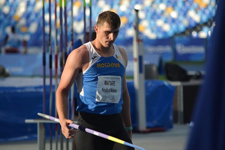 Moldoveanul Andrian Mardare, pe locul trei la Diamond League de la Paris