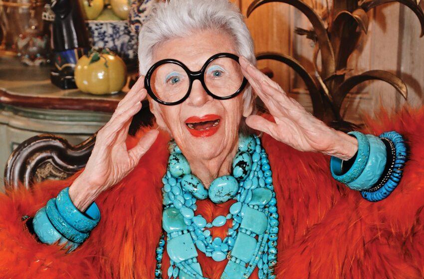 """(FOTO) Iris Apfel ,,Icoana modei"""" împlinește astăzi  100 de ani"""