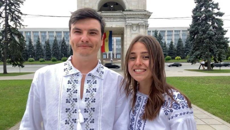 """(VIDEO) """"Limba noastră"""" a ajuns și în Orientul Mijlociu: 20 de străini recită imnul Republicii Moldova"""
