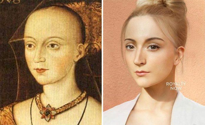 Figuri istorice reimaginate, ca oameni moderni, de artistul Becca Saladin