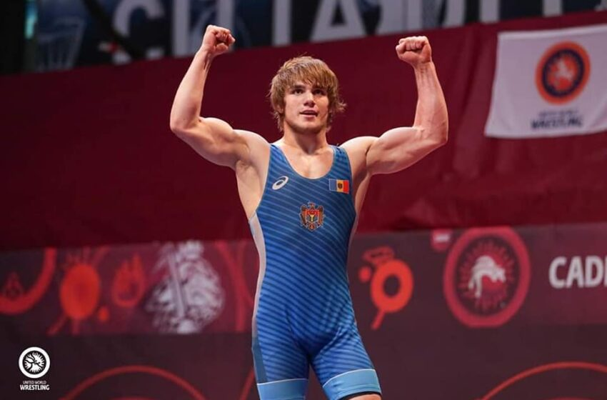 Bronz pentru Moldova, luptătorul de stil greco-roman Alexandrin Guțu a câștigat medalia