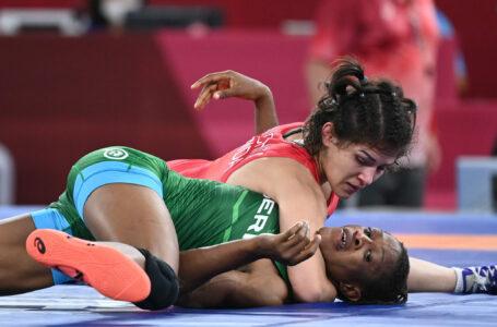 Victorie de senzație pentru Anastasia Nichita la JO 2021: Sportiva a eliminat una dintre marile favorite categoriei de 57 kg