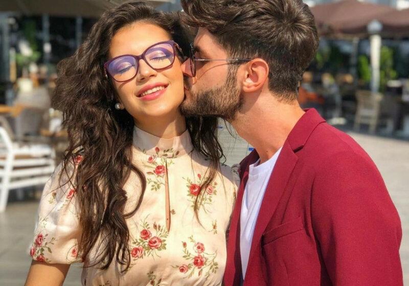 (FOTO/VIDEO) Primele poze ale Cleopatrei Stratan mireasă! Solista s-a măritat, la 18 ani, cu Edward Sanda
