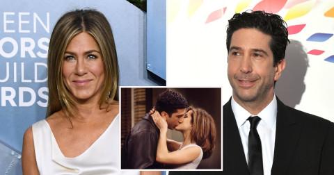 """Jennifer Aniston și David Schwimmer, mai apropiați ca niciodată. Se zvonește că actorii din """"Friends"""" formează un cuplu"""