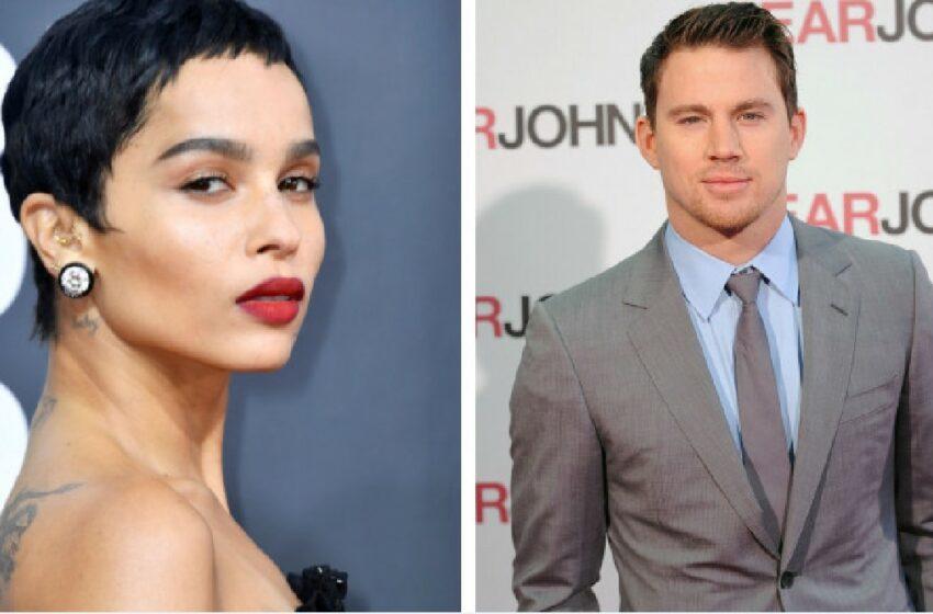 (FOTO) Channing Tatum și Zoë Kravitz, noul cuplu de la Hollywood: Cum au fost surprinși actorii pe străzile din New York